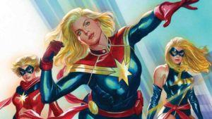 Capitana Marvel, tocando las estrellas