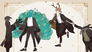 """""""Las bestias de Wizdoms"""" de Nagabe es un manga sobre el amor interespecie en un mundo lleno de magia y animales inteligentes."""