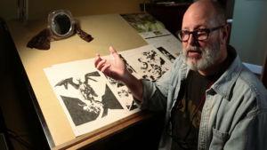 Mike Mignola subasta cuatro sketches para apoyar al cocinero español José Andrés