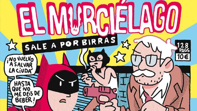 ¡Caramba! edita el exitoso cómic digital de Álvaro Ortiz «El murciélago sale por birras» y saldrá a la venta el 4 de junio