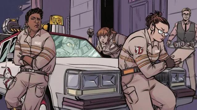 """Fandogamia publica """"Cazafantasmas responden a la llamada"""" el cómic de Kelly Thompson que continua la película de 2016"""