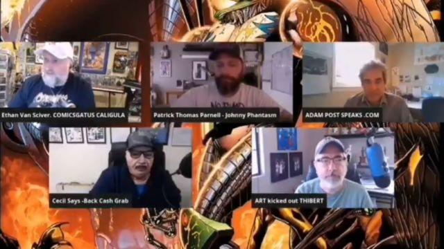 Aquella vez que el Comicsgater Art Thibert se quejó de Marvel, C.B. Cebulski, David Finch o… ¿Jon Favreau?