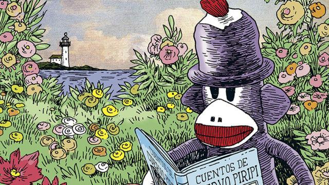 """La editorial Barrett publica """"Mono de Trapo"""" una antología de los cómics de Tony Millionaire sobre las aventuras de unos juguetes hechos a mano incapaces de estarse quietos"""