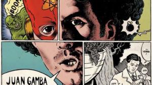 En la viñeta, de Juan Gamba, es una función que transmite toda la magia del cómic