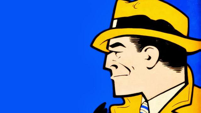 Dick Tracy, siguiendo el rastro del detective dorado creado por Chester Gould