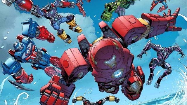 Heavy Metal- Spiderman y Los Vengadores se convierten en Mechas para enfrentarse a su mayor amenaza