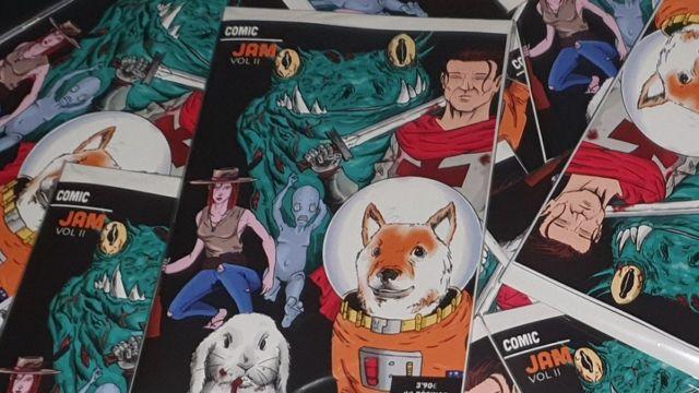 Comic Jam España, ¿Se puede hacer un cómic en un día?