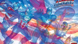 Cuatro generaciones del Capitán América se reunen en una nueva serie Marvel