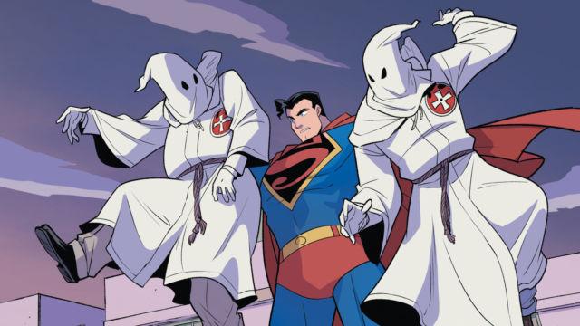 Superman contra el Klan, el cómic basado en hechos reales