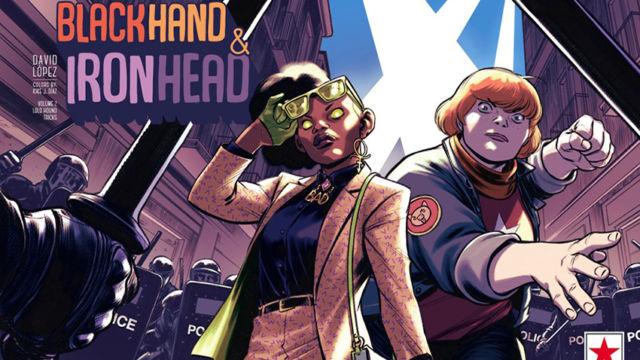Blackhand & Ironhead, el cómic de superheroico de David López, regresa por todo lo alto