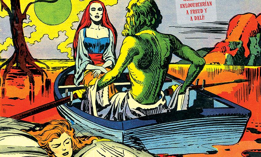 Jack Kirby y Joe Simon en los cincuenta: terror surrealista y detectives oníricos