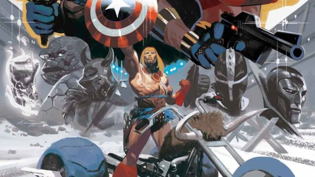 Daniel Acuña: «Mi etapa en el mercado de cómics de superhéroes ya ha terminado»