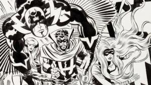 Top 25 de entintadores de Marvel Comics